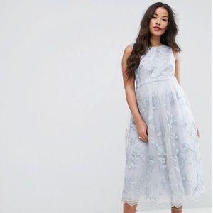 Chic Size 8 ASOS chichi midi maternity dress